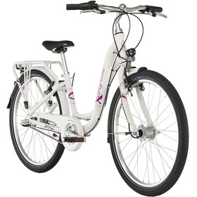 "Puky Skyride Light 24"" Bicicletta 3 marce Ragazza, white"